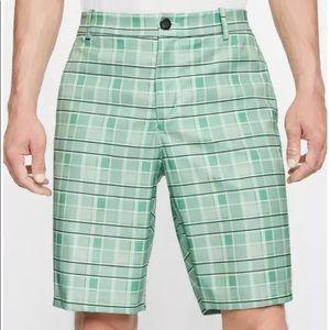 Nike Dri-Fit Golf Flex Plaid Shorts Preppy Men's